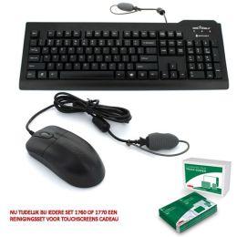 Waterdicht toetsenbord & muis combiset SEAL SHIELD