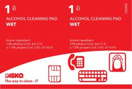 Alcohol reinigingspads - 360 pads