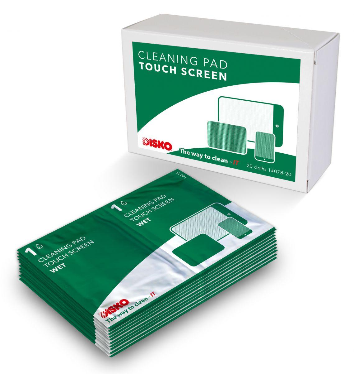 disko artikel 14087 reinigingsset voor touchscreens