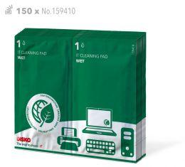 Universele reinigingsdoekjes voor hardware apparatuur (150x)